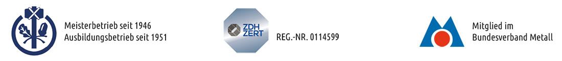 Unsere Zertifikate - Schlosserei Löhr